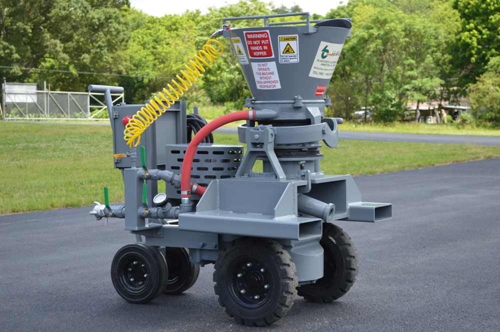 Most economical gunite machine on the market
