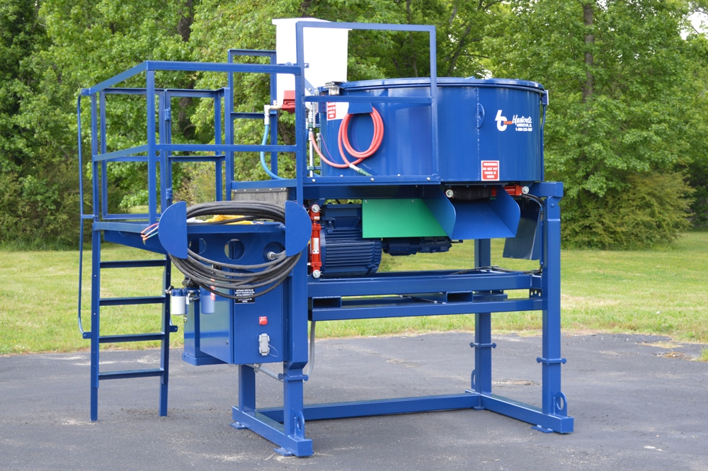 2200 lb. Capacity Pan Mixer