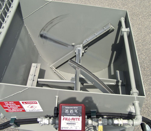 Paddle Mixer with Rubber Wipers