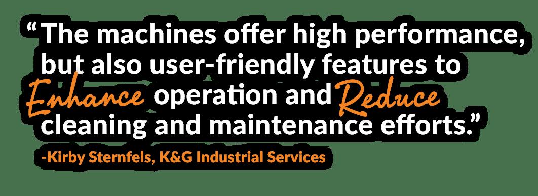 enhance operation and reduce maintenance