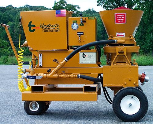 Hydrostatic Rotary Gun Machine