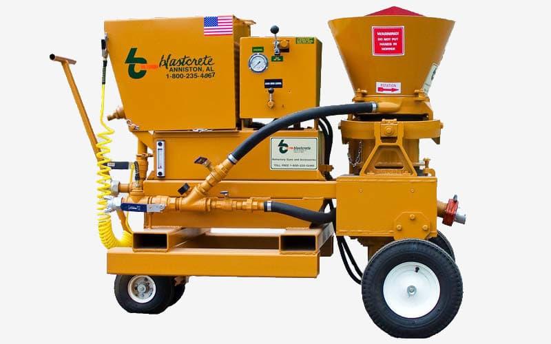 Hydrostatic Gunite Machine
