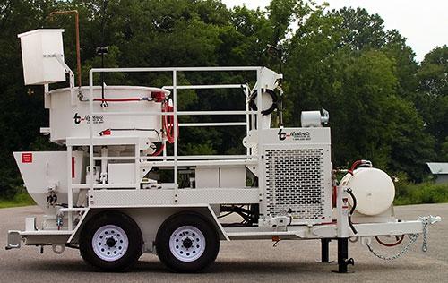 MX-10 Concrete Mixer Pump