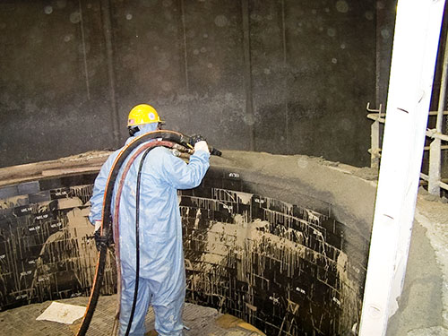 MX-10 shotcrete