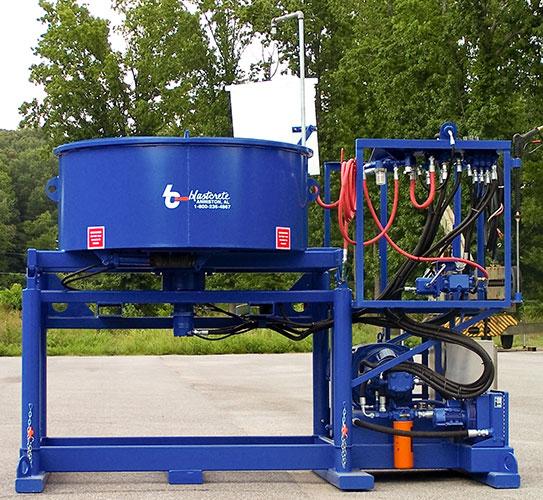 2200lb. Refractory Pan Mixer
