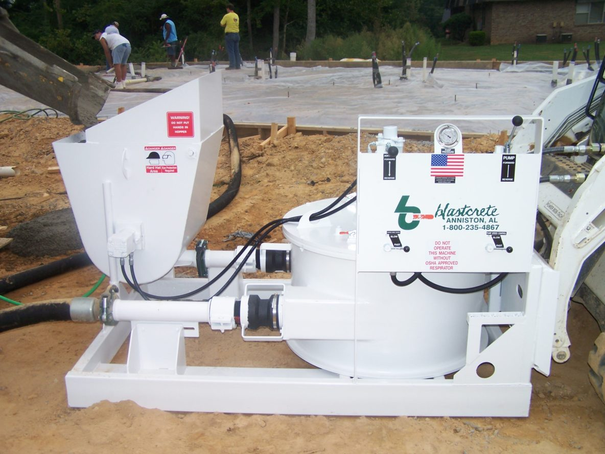 Skid Steer Concrete Pump