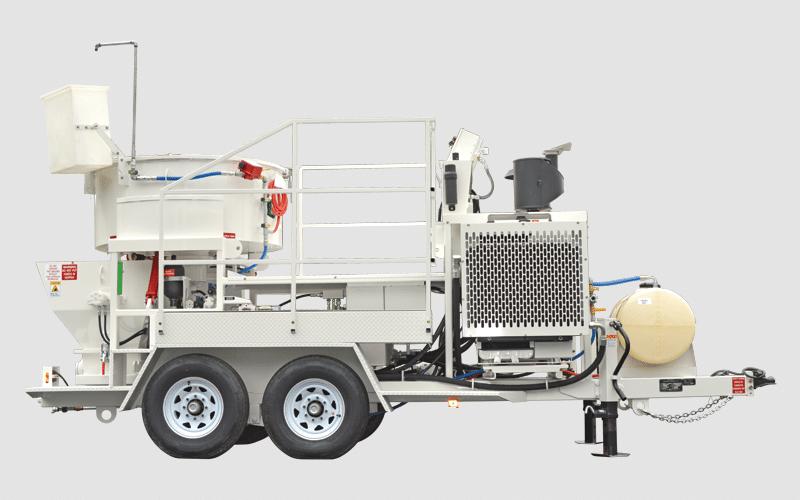 MX-20MT concrete mixer pump