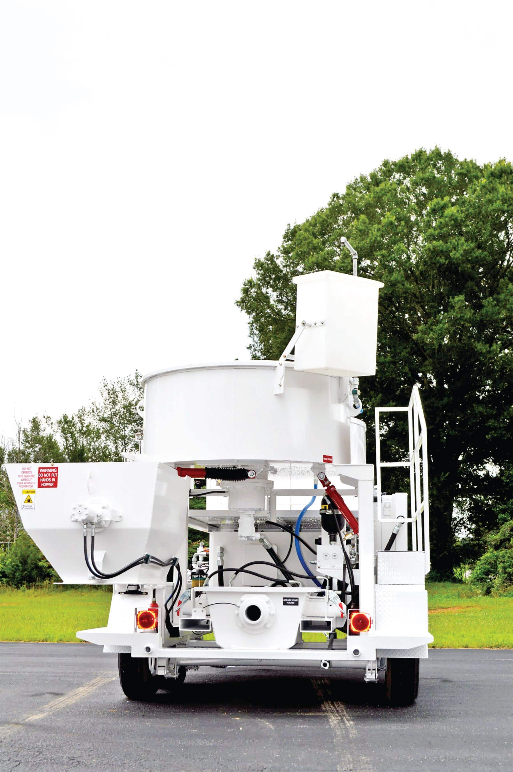 MX-20MT concrete mixer pump