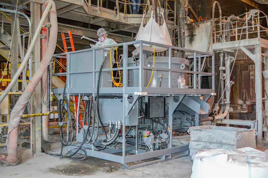 Refractory Concrete Mixer Pump