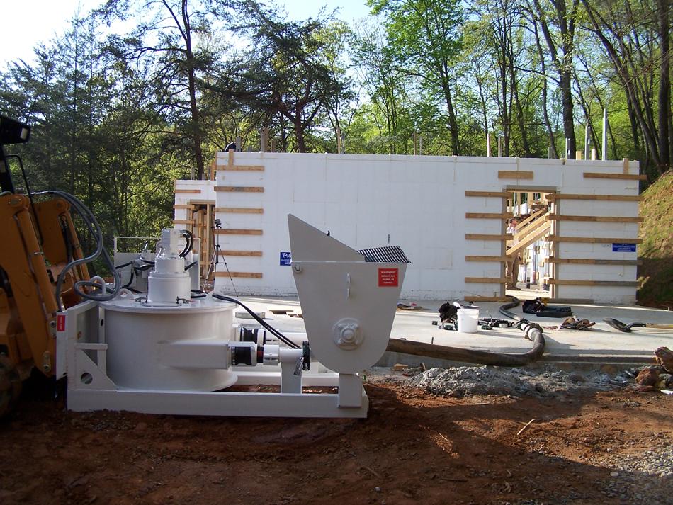 ICFs - When is a Concrete Pump Attachment Ideal