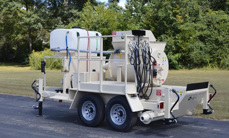 RS180 Wet Shotcrete Mixer-Pump