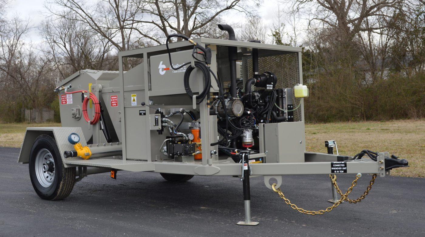 RS-60 Shotcrete Mixer-Pump