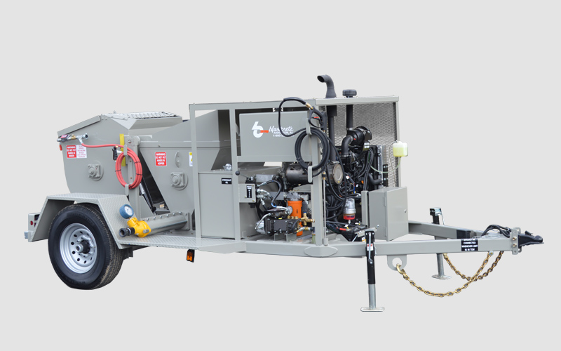 RS-60 Shotcrete Mixer Pump