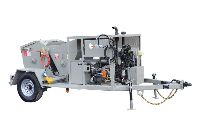 Refractory Shotcrete Mixer Pump