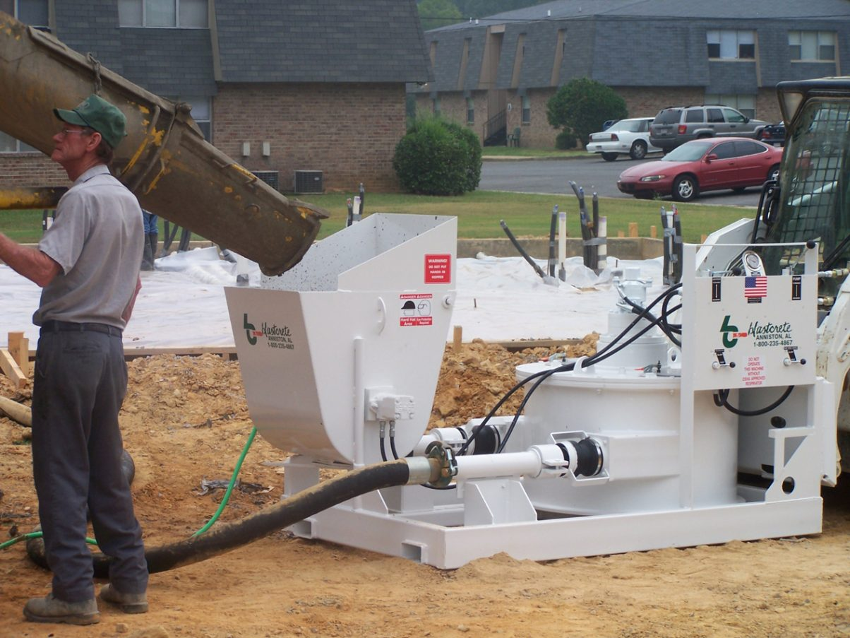 Peristaltic Concrete Pump